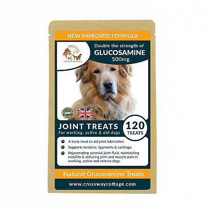 Natural Glucosamine - High Strength Dog Tablets for Active Dogs Working, Puppies