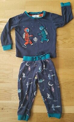Ted Baker 18-24 Month girl boy pjs pajamas set space astronaut blue stars baby
