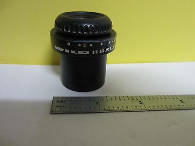 Microscope Pièce Oculaire Sauvage Heerbrugg Suisse 20x/13 Optiques Tel Quel Bin