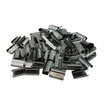 Pallet Strapping METAL CLIPS(12mmx25mm)for Binding Sealing Packing ANY QTY