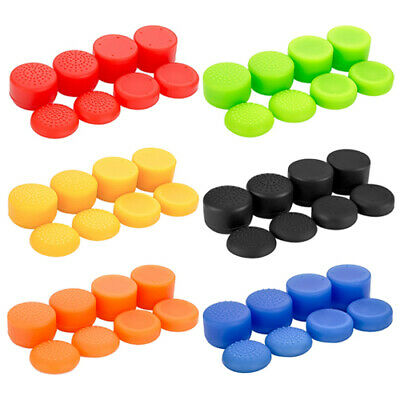 Controller Grips 8 Pack Thumb Stick Cap Cover For PS4, Xbox One, Xbox 360 & PS3