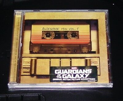 Guardians of the Galaxy Awesome Mix Vol. 1 Original Soundtrack CD New & Orig.