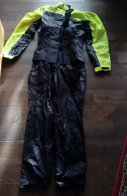 BN Weise Rain Over Suit 1 Piece Waterproof Overall Motorcycle Clothing Fishing