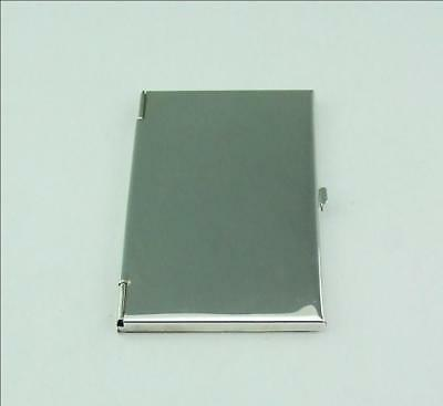 Modern English Silver Card Case Unused 1995