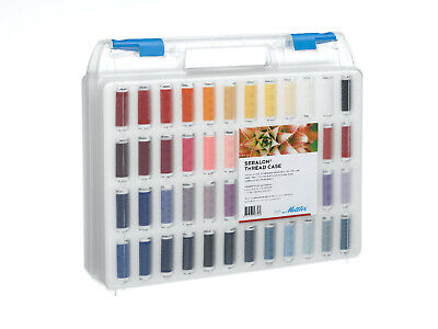 Mettler Seralon 100% Polyester Standard 96 Pack Sewing Thread Embroidery Crafts