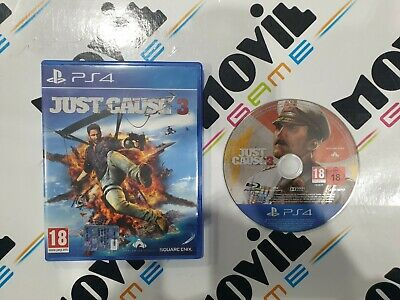 JUST CAUSE 3 per Playstation 4 PS4 italiano USATO garantito