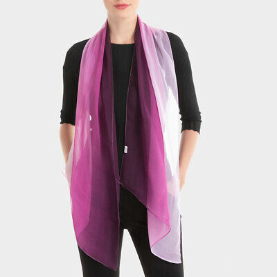 *US SELLER*lot of 12 wholesale Tie dye polyester scarf shawl wrap stole $2.75//pc