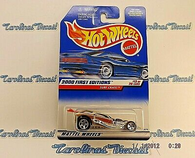 2000 Hot Wheels First Editions Surf Crate 73