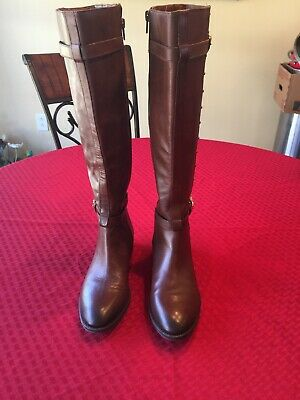 7c97cd8e428 NWOT VINCE CAMUTO Framina Brown Boots Size 4 -  50.00