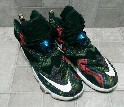 timeless design fbf36 01148 EXC NIKE Lebron James XIII BHM Black History Month Basketball Shoes    Men s  10