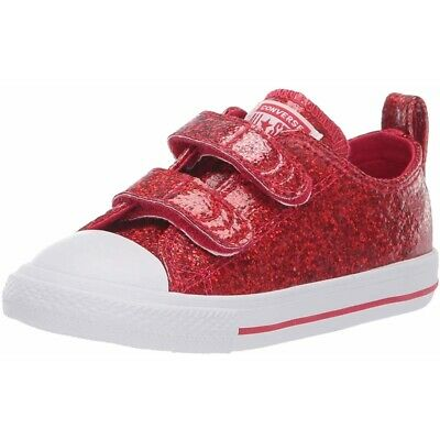 0f97781304cf6 Converse Chuck Taylor All Star 2V Party Dress Ox Rouge Cerise Synthétique