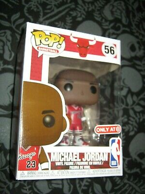 Funko POP! NBA Target Exclusive MICHAEL JORDAN 23 Chicago Bulls SOLD OUT Rookie