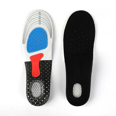 A Pair EVA Flat Foot Arch Support Orthotics Orthopedic Insoles Support Soft Pad