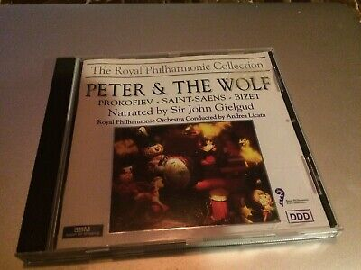 John Gielgud - Peter & The Wolf - John Gielgud CD TGVG The Cheap Fast Free Post