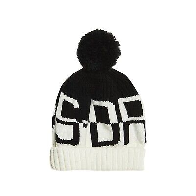 Bonnet Superdry S-dry Snow Logo Black / White