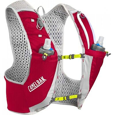 Sac A Dos Camelbak Ultra Pro Vest 17oz Quick Stow Flask  Crimson Red/lime Punch
