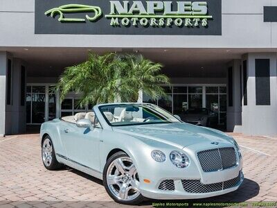 2013 Bentley Continental GT GTC Mulliner 2013 Bentley Continental GT GTC Mulliner Automatic 2-Door Convertible