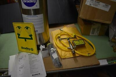 Bradley S19-672GR Portable Eyewash And Drench Hose Station