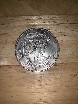 2010 Silver Dollar Coin ~ 1 troy oz AMERICAN EAGLE Walking Liberty .999 Fine