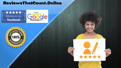 1x REAL FIVE STAR GOOGLE REVIEW SERVICE