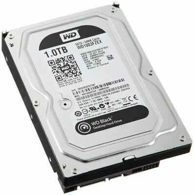 "WD BLACK 1TB 64MB 3.5"" SATA 6GB/s 7200RPM, Internal Desktop HDD"
