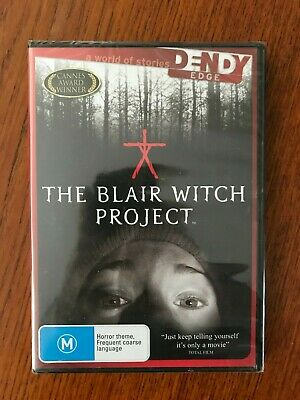 The Blair Witch Project DVD Region 4 New & Sealed