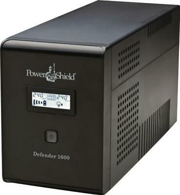 PowerShield Defender 1600VA / 960W Line Interactive UPS with AVR, Australian Out