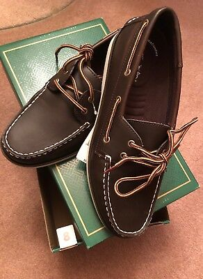 f6491f77f3c THOM MCAN SIZE 8 Mens Bruce 20281 Brown Boat Shoes NIB -  18.90 ...