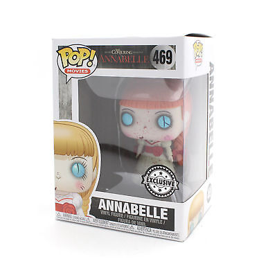 Funko Pop Vinyl Movies : The Conjuring Annabelle : Bloody Annabelle Exclusive