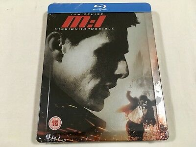 Mission: Impossible (1996) - Limited Edition Steelbook Blu-Ray Region B/A | New