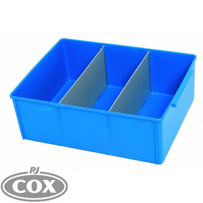 Icon Nylex 400 Series Plastic Parts Storage Sorting Tray Large Container Box