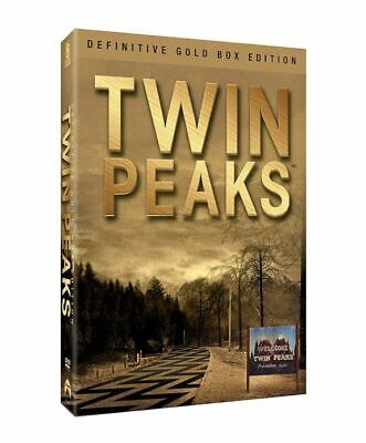 Twin Peaks  The Definitive Gold Box Edition DVD Set 2017 Kyle MacLachlan Ontkean