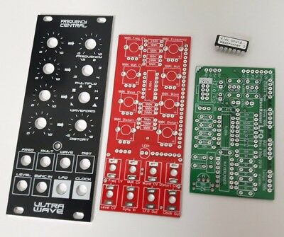 Frequency Central Ultra Wave complex LFO PCB/panel - Doepfer DIY - 10% off!!