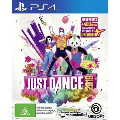 Ubisoft Just Dance 2019 PlayStation 4 PS4 GAME BRAND NEW FREE POSTAGE