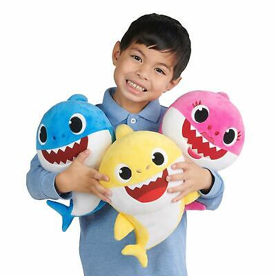 Pingfong Baby Shark Singing Song Plush Toy WowWee Official Product Brand USA Toy