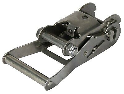 Ratchet Tie Down Stainless Steel Boat Trailer Buckle Only Suits 50mm Strap 800KG