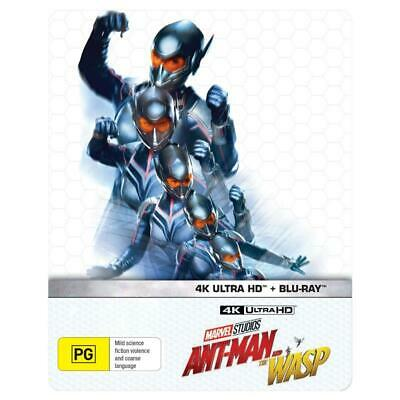 ****Ant-Man And The Wasp (4K Ultra HD + Blu-ray, 2018, 2-Disc Set)BRAND NEW & SE