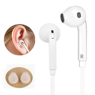 3.5mm In-Ear Earphones Bass Stereo Headphones Headset With Mic For Samsung S6 S5