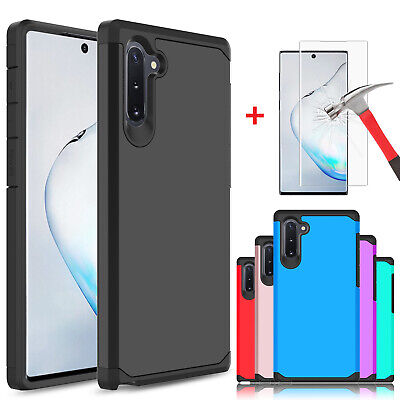 For Samsung Galaxy S10/S10 Plus Protective Case With Full Cover Screen Protector
