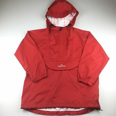 Girls,Boys size 8, Kathmandu, red lightweight rain jacket / coat, GUC
