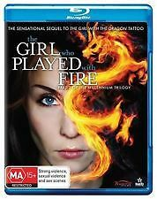 The Girl Who Played With Fire (Part 2 Of Trilogy) - Brand New & Sealed Blu Ray