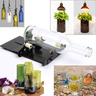New Glass Bottle Cutter Cutting Machine Beer Wine Jar DIY Kit Craft Recycle Tool