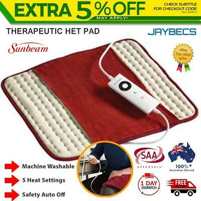 Sunbeam Pain Relief Heat Pad Arthritis Joint Pain Relief Back Electric Heating
