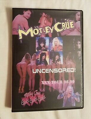 Motley Crue – Uncensored! Tour '98-'99 DVD [NTSC NEW/SEALED]