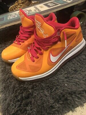 huge selection of 8b8f9 b0e32 Nike Men s Lebron 9 Low Floridian Size 9