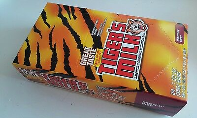 Tiger s Milk PROTEIN RICH Nutrition Bars 24 -1.23 oz Energy Packed Snack