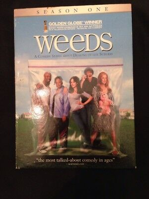 Weeds Season 1 2006 Nancy Botwin Award Winning Comedy Drama Agrestic  2 DVD Disc