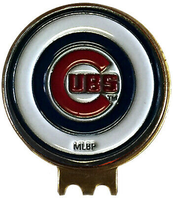 Chicago Cubs Baseball Golf Ball Marker On Hat Clip Great Gift Idea Mlb Cubbies