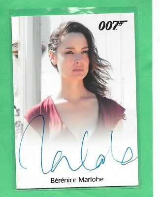 2016 James Bond Archives Spectre Edition Berenice Marlohe Full Bleed Autograph