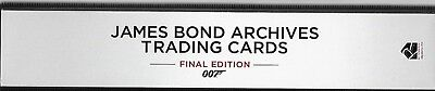 2017 James Bond Archives Final Edition Binder + Binder Exclusive P3 + BONUS P1